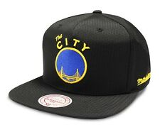 Black Warriors Cap NBA Mitchell & Ness Ripstop Snapback Cap - New - One Size