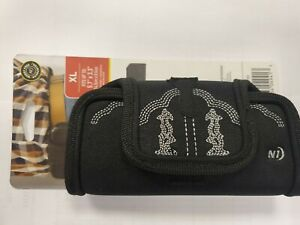 Nite Ize  Horizontal Black X-Large Rugged Holster Belt Clip
