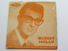 BUDDY HOLLY ORIG 1960 U.K. EP    IT DOESN'T MATTER ANY MORE   CORAL FEP 2032