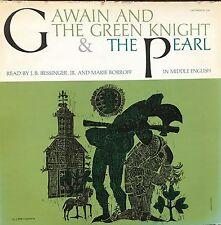 Gawain and the Green Knight & the Pearl, Vinyl LP, Mono, TC 1192, USA