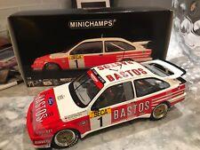 1/18 MINICHAMPS FORD SIERRA RS 500 COSWORTH-24H SPA''89 WINNER BASTOS NEW RARE