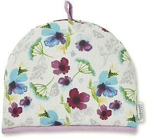 Cooksmart England Teekannenwärmer Baumwolle Chatsworth Floral geblümt Blumen