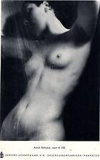 Jänecke-Schneemann K.G. Hannover DRUCKFARBENFABRIKEN XXL- Kunstwerbung von 1938