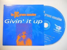 THE PC GROOVE SENSATION : GIVIN IT UP [ CD SINGLE ]