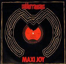 """The Subterraneans MAXI-Joy/Slum/En route pour la lumière 12 maman 819 8712"""" VG/E..."""