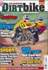 CLASSIC DIRT BIKE-No.23-(NEW COPY) *Post included to UK/Europe/USA/Canada