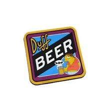 "The Simpsons "" Barney "" Duff Beer Non-Slip Coaster. NEW"