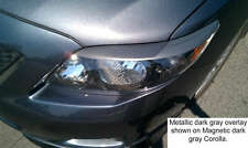 09 Corolla 3M Gloss Silver Eyelids Pre-cut vehicle graphic film overlays brows