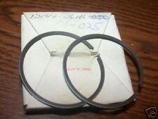NOS Suzuki TM75 TS75 .25 Piston Rings 12140-26100-025