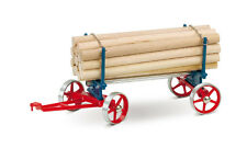 Wilesco A 425 Lumber Wagon for Live Steam Traction - Shipped from USA