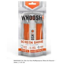 WHOOSH! Screen Cleaner 1 OZ 30mL For TV And Computer Screens & Gadgets