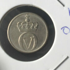 Norway  1972 10 ore  coin very Fine details  !