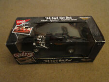 American Muscle '34 Ford Hot Rod Grease 1:18 Die Cast Model Car REALLY COOL