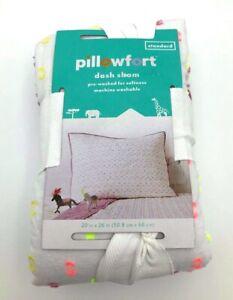 Pillowfort Pink Purple Multi Cotton Standard Sham New