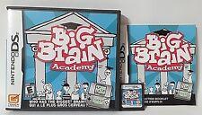 Big Brain Academy Nintendo ds 2006 Complete