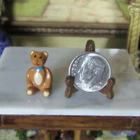 Dollhouse Tiny Green Neon World of Miniature Bears Teddy Bear for Doll House