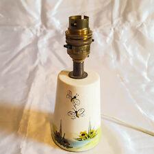 ART Deco Lampada da tavolo o da comodino luce base in ceramica dipinto a mano Illuminazione
