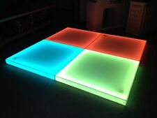 LED dance floor panels multicolor waterproof Rgbw event party wedding