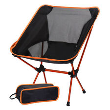 Camping Folding Chair Festival Hiking Finishing Garden Indoor Outdoor Seat 150KG