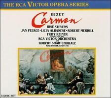 Georges Bizet: Carmen (CD, Oct-1990, 3 Discs, RCA)