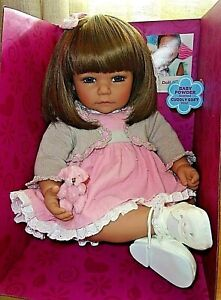 """NEW ADORA 20"""" TODDLER TIME DOLL SWEET CHEEKS"""