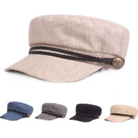 Men's Classic Driving Golf Cap Outdoor Elastic Casual Cabbie Newsboy Flat Hat