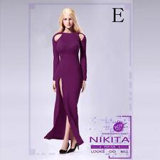 VERYCOOL VCF2017 1//6 Scale Purple High-Heel Shoes Classic Suit Women Shoes Modle