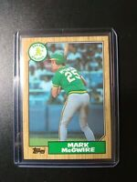 1987 Mark McGwire Topps Rookie RC