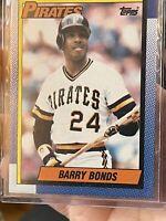 1990 Topps Barry Bonds Pittsburgh Pirates #220 Baseball Card Mint