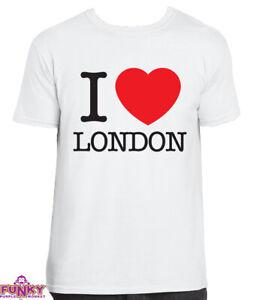I heart love LONDON  White T-Shirt