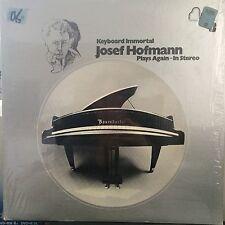 Josef Hofmann Play Again In Stereo The Keyboard Immortal Series 3 LP