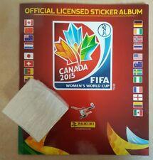 PANINI FIFA Women's World Cup 2015 Canada Leeres Album Deuts+10 bilder aussuchen
