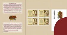 2015 Russia. History of the World War I. Heroes. Booklet