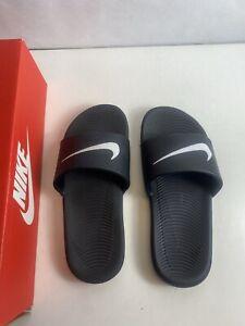 "Nike Kawa Slide ""Black/White"" Kid's 1y- 819352 001"
