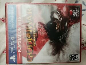 God of War 3 Remastered - PlayStation 4 PS4  ***NEW SEALED***