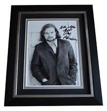 Van Morrison SIGNED 10x8 FRAMED Photo Autograph Display Music Memorabilia COA