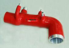 RED SILICONE TURBO INTAKE Hose For SUBARU IMPREZA GC8 EJ20 WRX STI VER 5-6 98-00