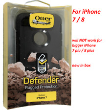 OtterBox Defender Series Case for iPhone 7 iPhone 8 - Black (77-53892)