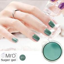 MRO Sugar Gel Nail Polish Glitter UV LED Soak Off Varnish Candy Gel Professional