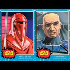 🛑👀 Topps Star Wars Living Set 2-card #101-102 Royal Guard & Captain Rex🔥