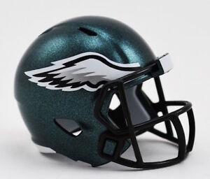 Philadelphia Eagles NFL Riddell Pocket Pro Speed Mini Football Helmet