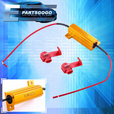 1 Piece 50 Watt 6 Ohm Fix LED Bulb Fast Hyper Flash Error Turn Signal Blinker