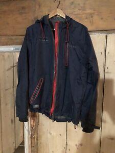 Infiniti Red Bull Racing Rain Jacket Coat Blue Red Size Medium Pepe Jeans F1