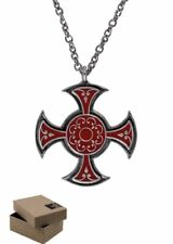 Assassins Creed Syndicate Starrick Templar Necklace with BOX - Amulet Pendant FG