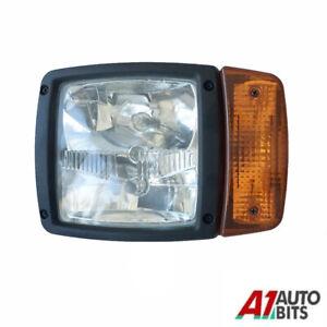 Lh For Jcb Telehandler Loader Loadall Headlight Head Light Headlamp Indicator