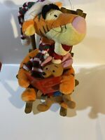 Rare Winnie the Pooh Tigger And Roo Rocking Chair Christmas 2009 Not Working