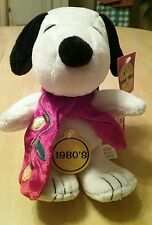 "Dan Dee Snoopy Plush Stuffed Animal With Christmas Scarf 9"" Tall"