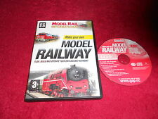 MAKE YOUR OWN MODEL RAILWAY PC CD- ROM GAME