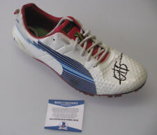 USAIN BOLT Hand Signed Racing Spike  Cleat  + PSA BECKETT  COA * BUY GENUINE *