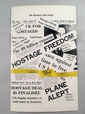 1981 American Hostages Freed in Iran - Veldale Ltd Edition Postcard Perfect